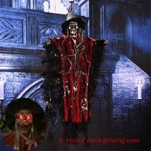 7 Styles Skull Halloween Hanging Ghost Haunted House Grim Reaper Horror Props Home Door Bar Club Decorations
