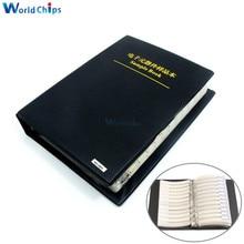 2475 pçs/set 0805 5% SMD Resistor (37 valor 1875 pcs) + 0603 5% capacitor (17 valor 600 pcs) Amostra Livro Versão Simples