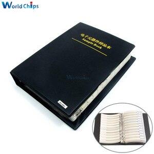 Image 1 - 2475pcs/set 0805 5% SMD Resistor (37 value 1875pcs) + 0603 5% capacitor(17 value 600pcs) Sample Book Simple Version