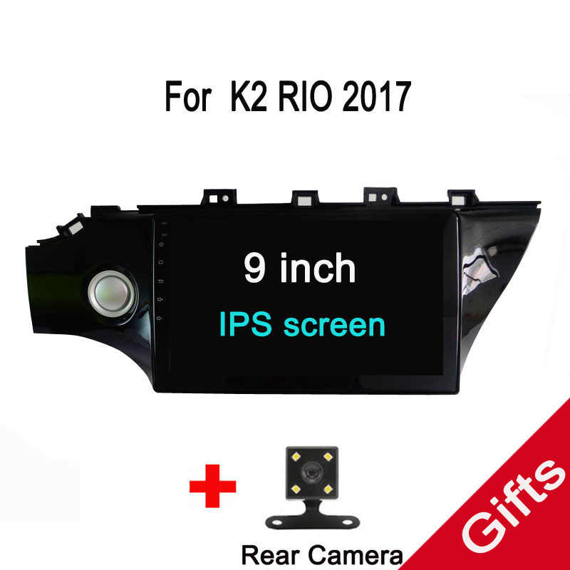 "10.1"" Octa Core Android Fit KIA k2 Rio 2017 2018 Car DVD Player Navigation GPS Radio"