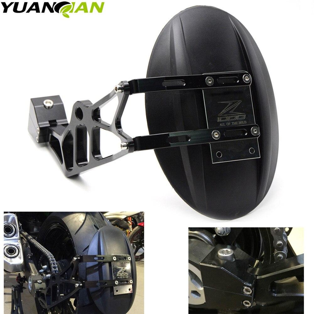 For KAWASAKI Z1000 Z1000SX 2010-2016 CNC Aluminum Motorcycle Accessories rear fender bracket motorbike mudguard Z1000 Z1000SX стоимость