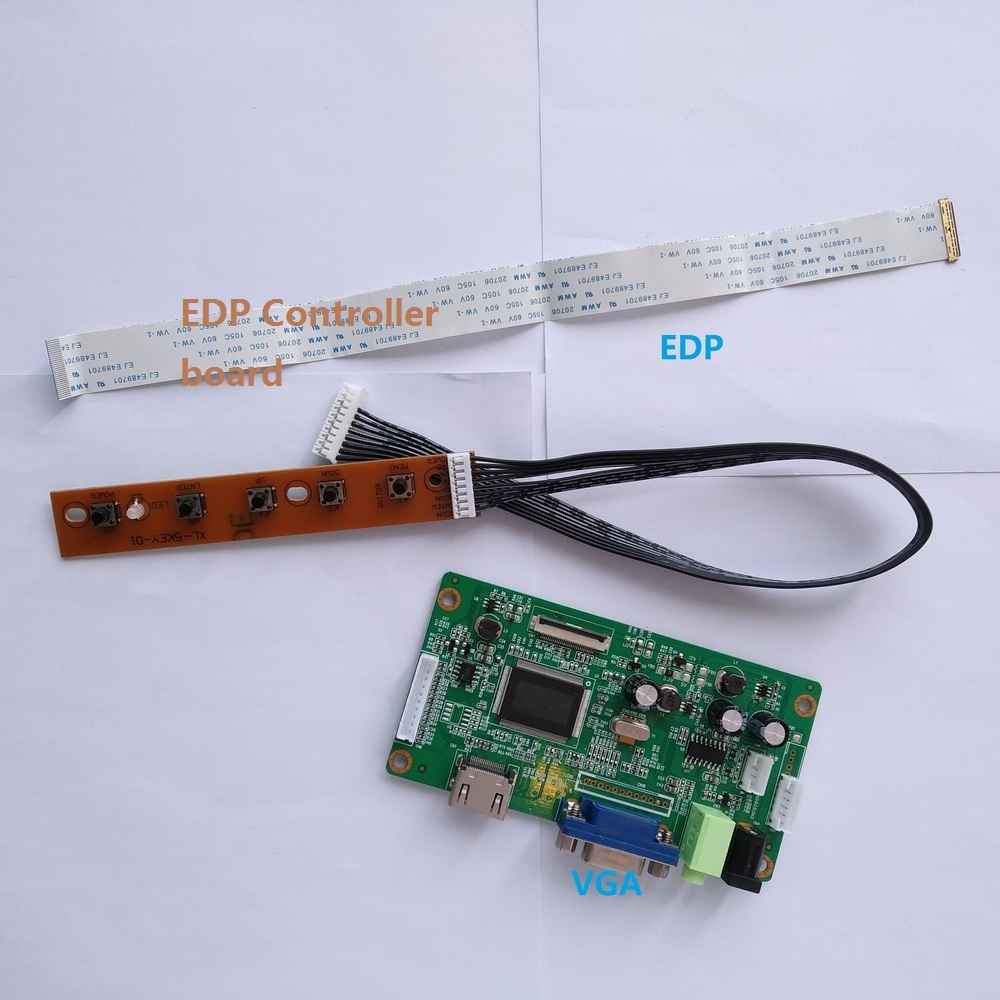 for N156BGE-E33 KIT VGA Controller board 1366X768 15.6