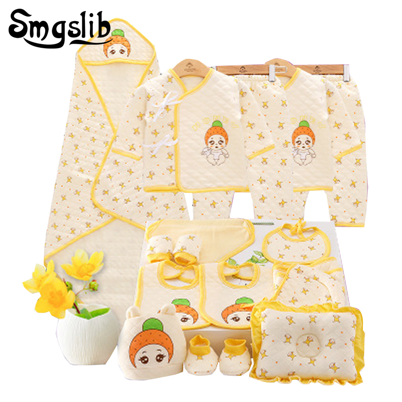 18/21pcs/lot Baby Girl Clothes Newborn Toddler Infant Autumn/Spring Cotton baby suit Rompers+Pants baby boy clothing set outfit lemonmiyu cotton baby rompers long sleeve newborn pajamas animal print infant boy girl one piece spring autumn baby clothes