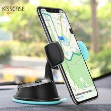 KISSCASE 360 stopni regulowany uchwyt samochodowy frajerem GPS posiadacze płyt 3 w 1 uchwyt samochodowy telefon держатель для телефона в машину