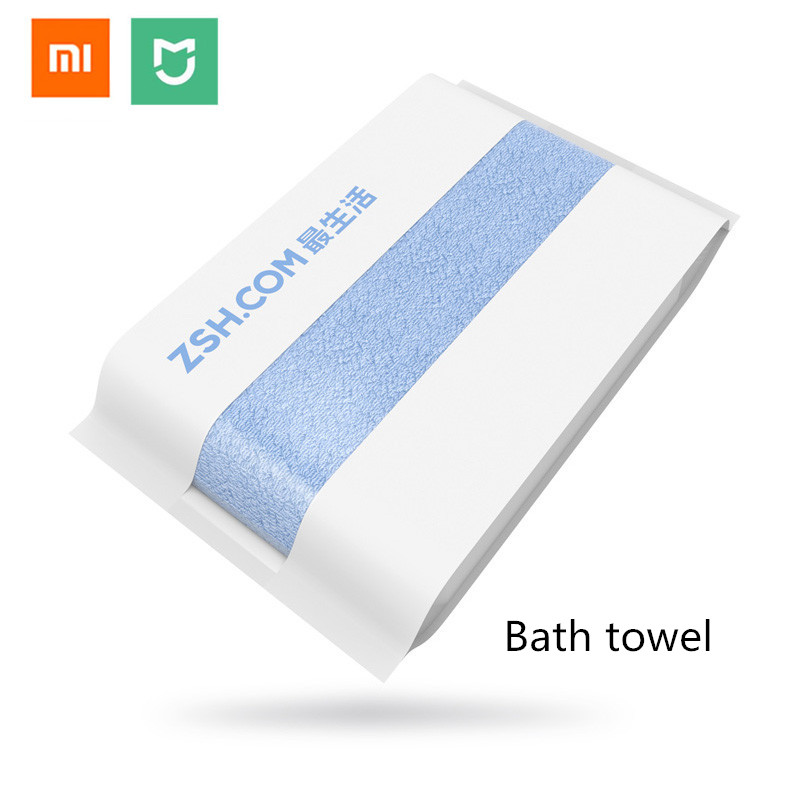 Original Xiaomi Zsh Bath Towel 100 Cotton Bath Towel