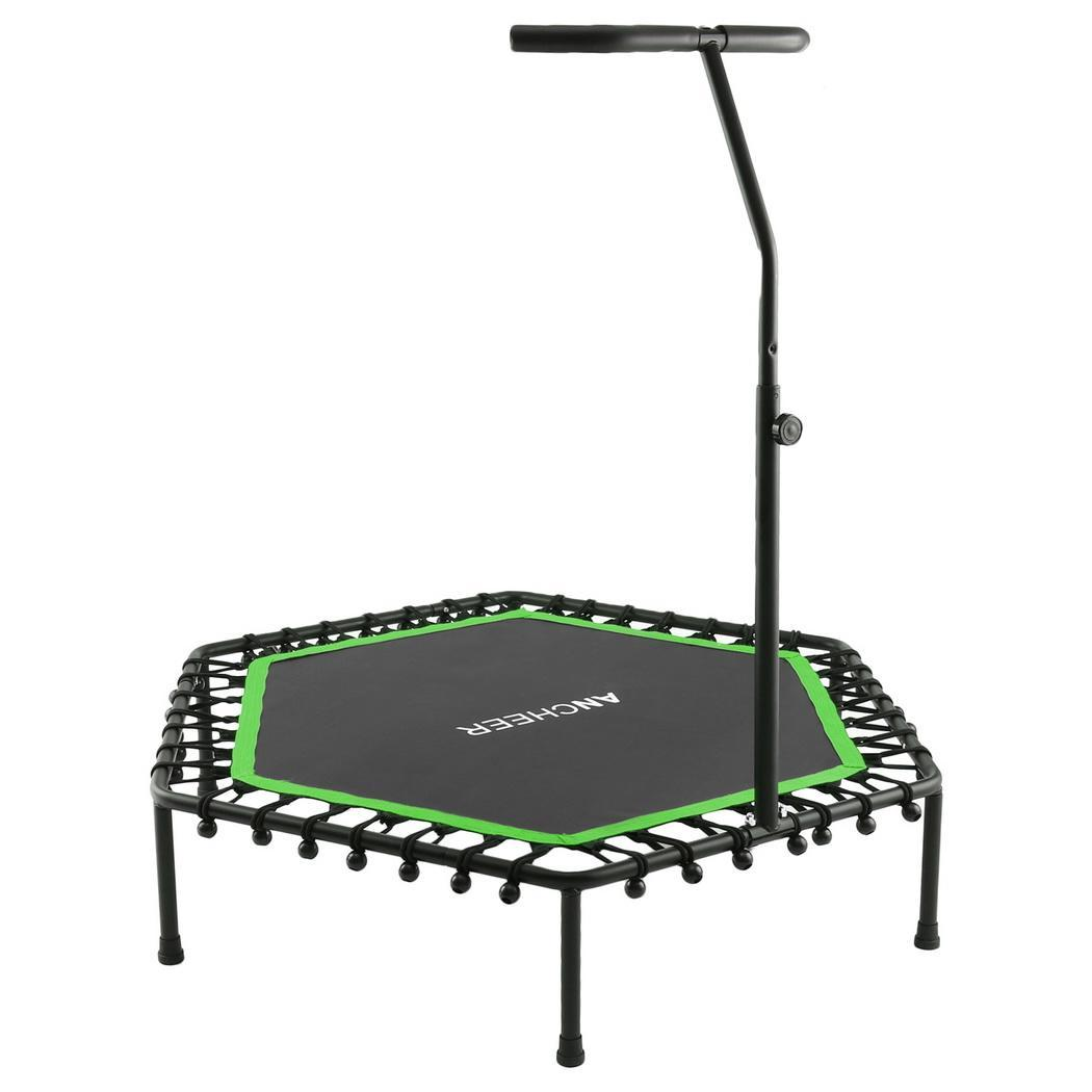 Coil Springs JIKE SLIDE Toddler Trampoline Heavy Duty Trampoline Indoor Outdoor Toddler Trampoline Mini Trampoline with Sturdy Frame 36 Kids Trampoline with Handle