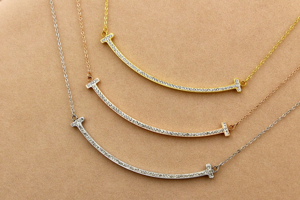 mantic Necklace with a collarbone smile Necklace necklaces & pendants