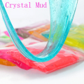 Crystal Mud slime 12 colors for kids magnetic Polymer Clay Air Dry plasticine magic playdough slime children's crystal soil