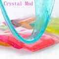Lama de cristal slime 12 cores para crianças magnéticos lodo polymer clay playdough plasticina mágica ar seco solo de cristal das crianças