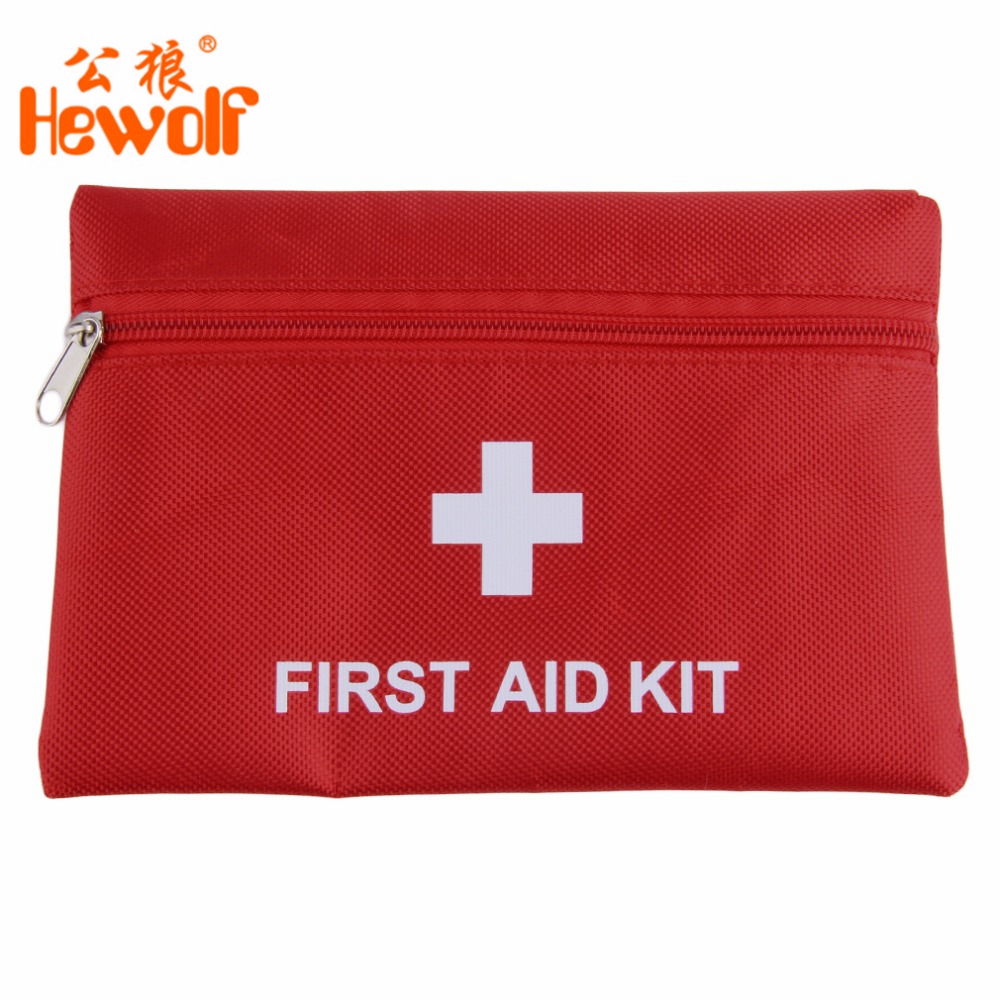 Hewolf 1.4L Portable Emergency First Aid Kit Pouch Bag Travel Sport Rescue Medical Treatment Outdoor Hunting Camping