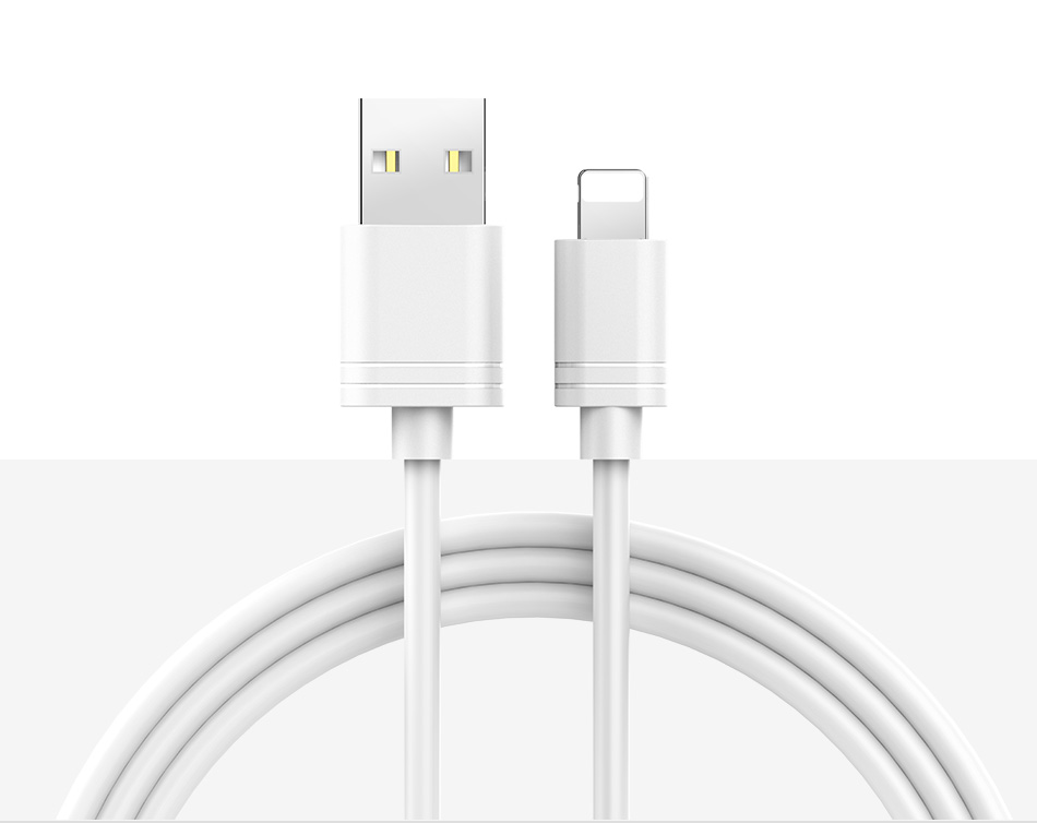 NOHON TPE Charging Data Cord For iPhone X XS MAX XR 8 7 6 6S 5 5S Plus IOS 11 12 Lighting Fast Charger Charge Cable For ipad 2M (12)