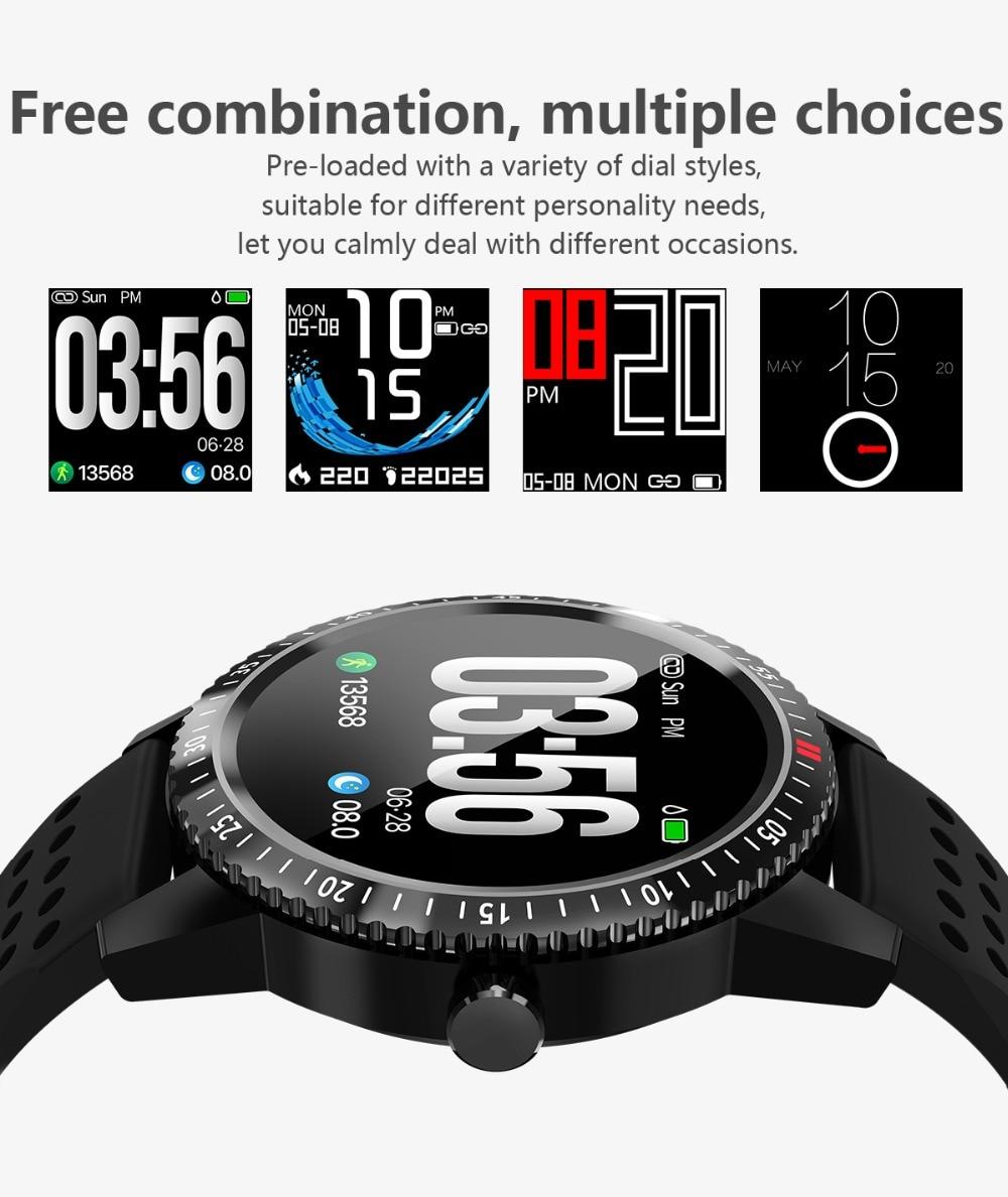 DIGOOR Smart Watch women IP67 waterproof Support Blood pressure  Women Cycle monitoring GPS tracker Heart rate Fitness bracelet Smartwatch (8)