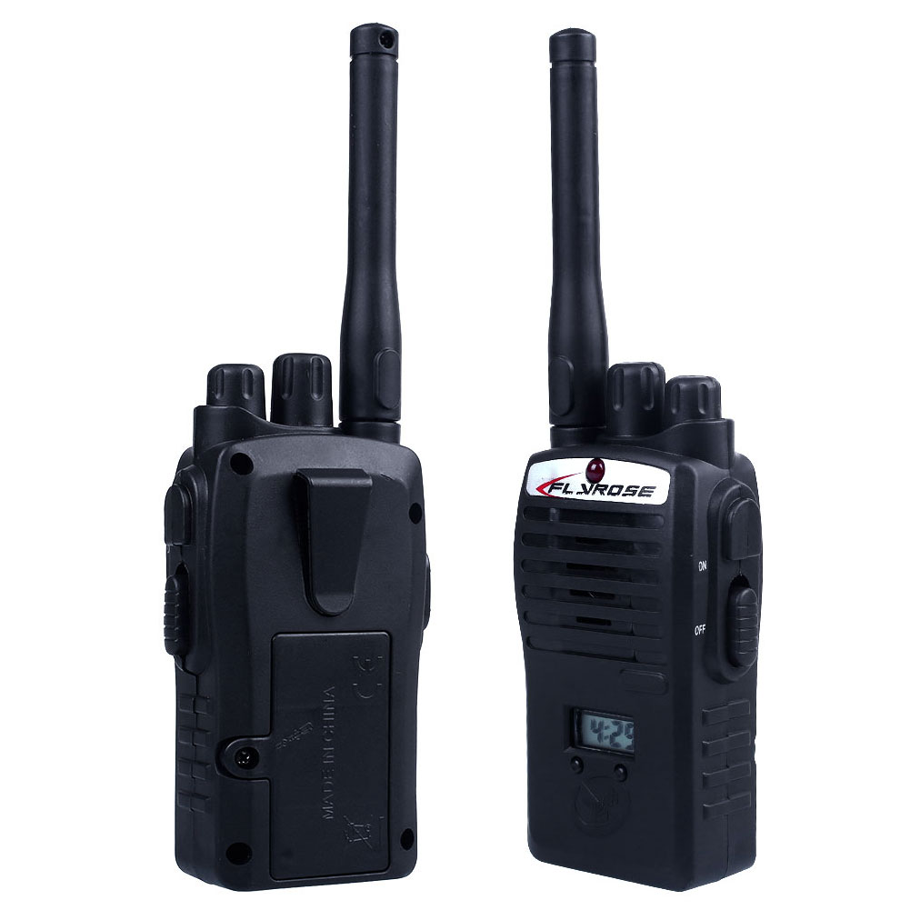 2pcs/lot Wireless Walkie Talkie Children Set Kids Portable Electronic Interactive Educational Toys Black