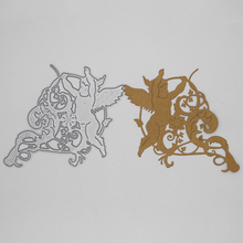 Angel baby Metal Cutting Dies DIY Decorative Scrapbooking Craft Card Album Stencils 102*92 mm