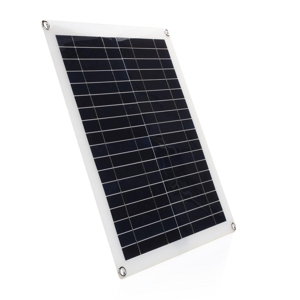 42*37*0.3cm 20W Solar Energy Solar Panel Reusable Car Solar Cells Environmental Home Improvement Solar Charging Equipment