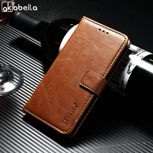 AKABEILA PU Leather Case For OPPO F5 F7 F3 F1 A33 A37 A39 A57 A59 A79 R11s R11 Plus R9S R9 Plus R7S Joy 3 Cover Flip Card Holder