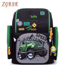Cartoon Children School Backpack Girls Book Bags Back Pack For Kids 1-4 Grade Schoolbag