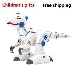 2018 Лидер продаж High Tech робот динозавр моделирование пожарное дыхание окружающей среды программируемый дети расстояние Образование игрушка