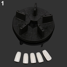 Removable Practice Training Display Rack Nail Art False Tip Holder Manicure Tool