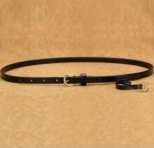 Women's Pin Buckle Leather Belt