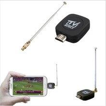 Mini Micro USB DVB-T Numérique Mobile TV Tuner Récepteur pour Android 4.1 Ci-dessus Hight qualité
