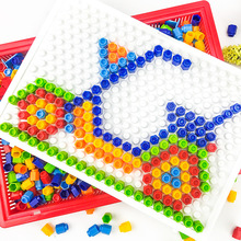 592Pieces Puzzle  with intelligent magic plate toys DIY assembly exercise hands-on ability of children board toys toddler toys magic toys on holiday