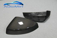 Kibowear for Audi A3 S3 8V Carbon Fiber Side Mirror Cover Caps CF 2014 2015 2016 2017 Replacement pair
