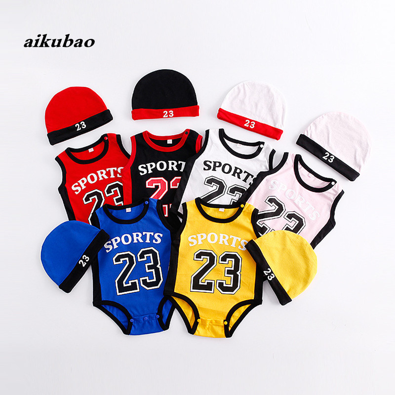 baby boys basketball clothes basketball rompers baby infants sportswear Baby sport jumpsuit Sets baby kids boys sport clothes