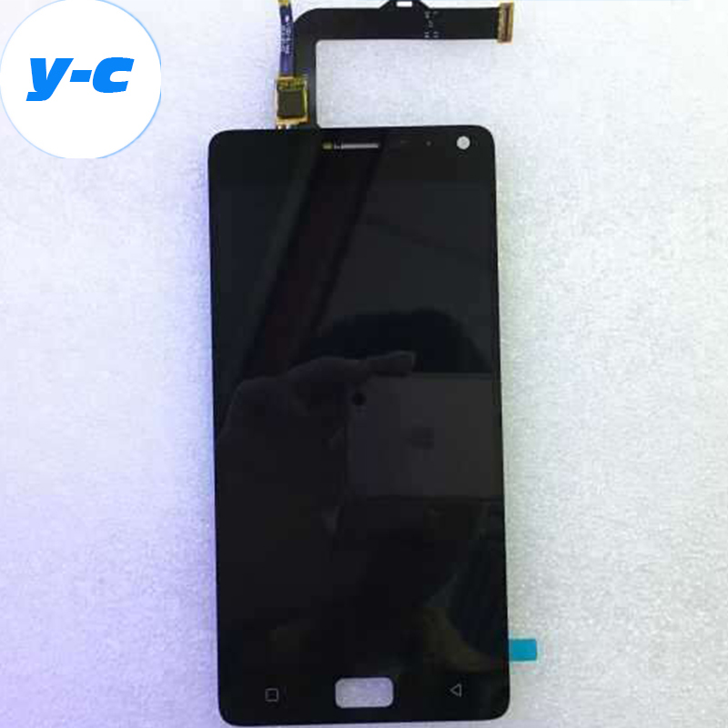 For Lenovo Vibe P1 LCD Display+Touch Screen New Digitizer Glass Panel Assembly For Lenovo Vibe P1 1920x1080 FHD 5.5inch аксессуар чехол lenovo k10 vibe c2 k10a40 zibelino classico black zcl len k10a40 blk