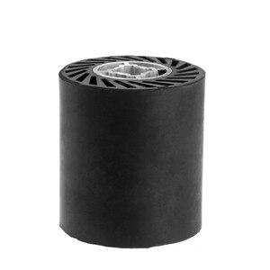 Image 2 - DRELD 1 шт. 90*100*19 мм Резиновый полировальный шлифовальный станок аксессуар твердый каучук Контактное Колесо Ремень шлифовальный станок часть