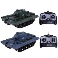 1 30 4CH RC Military Tank Turret Rotation Remote Control Model Long Distance Control Kids Boy