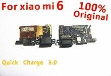 Voor Xiao mi mi 6 poort opladen Mi 6 charger board flex Kabel Voor Xiao Mi Mi 6 dock plug connector Vervangende Onderdelen