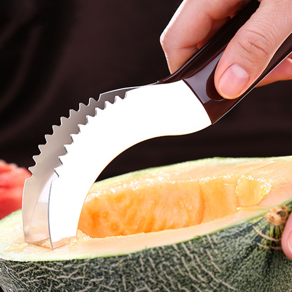 Stainless Steel Watermelon Slicer Watermelon Knife Fruit Vegetable Tools Cutter Kitchen Accessories Cutting Tools