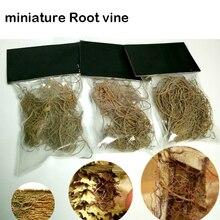 Миниатюрный корень лозы растительность поезд железная дорога цветок модель военной сцены DIY материал