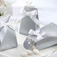 c480f042a5b Personalized Rings Wedding Party Favors Box Love Bird Sweets Candy Choclate Boxes  Gifts Present Wrap Bag