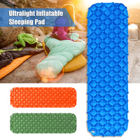 Inflatable Camping Mat Air Sleeping Pad Air Mattress Beach Picnic Mat with Built in Pillow for Outdoor Camping Hiking Travel