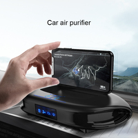 MWdao car air purifier vehicle air ionizer cleaner fresh negative ion ozone ozonizer odor eliminator usb for car