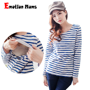 Emotion Moms Long sleeve Maternity clothes maternity shirt Breastfeeding Tops Top pregnancy clothes for Pregnant Women emotion moms winter maternity clothes nursing top breastfeeding tops pregnancy clothes for pregnant women maternity sweater