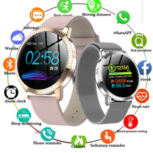 Smart Watch CF18 For Women Sport Heart Rate Blood Pressure Monitor Waterproof Tempered glass Activity Fitness tracker Smartwatch engine camshaft timing locking tool kit for bmw n51 n52 n53 n54 n55