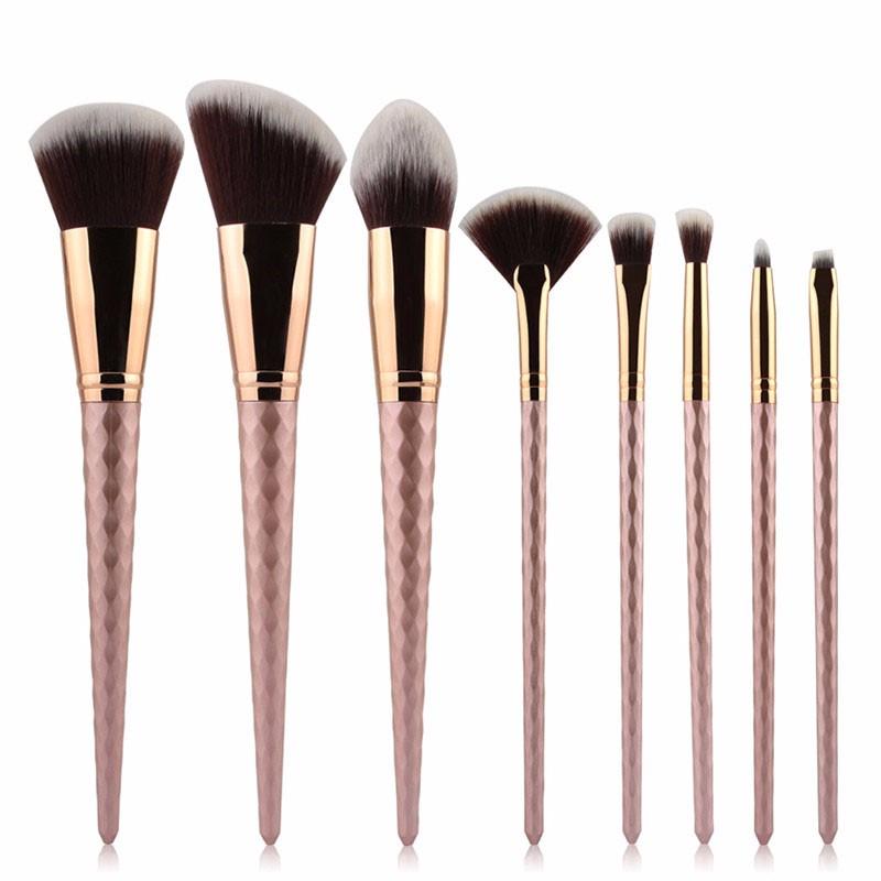 8pcs makeup brush set