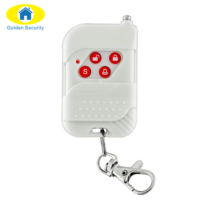 Golden Security Wireless Portable Remote Control For GSM PSTN Home Alarm System  Home Security Voice Burglar Smart Alarm System wireless remote control smart socket control power rf socket switch plug outlet for gsm 3g wifi golden security alarm systems