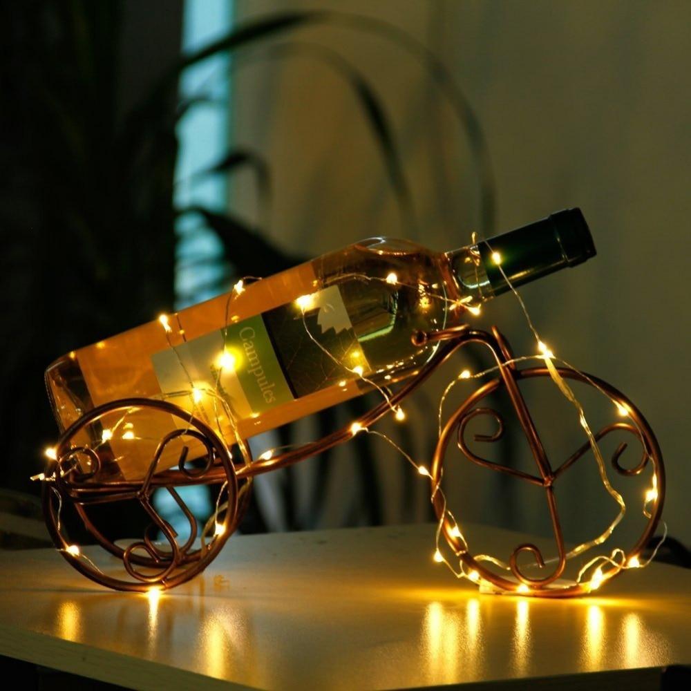 1-10m LED String Lights LED Batteri for Xmas Garland Party Bryllup - Ferie belysning - Bilde 3