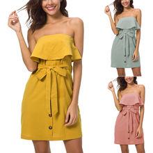 78381b79b48f 2018 Europa y América nuevo algodón Ebay Amazon mujeres explosión nueva  colmena y vestido de cuero XRQ88