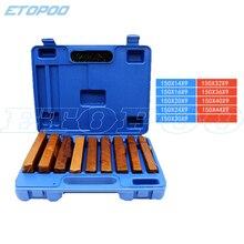 Высокое качество 150x9 мм 18 шт прецизионный параллельный набор, прецизионный Параллелизм: 0,01 мм, набор параллельных блоков