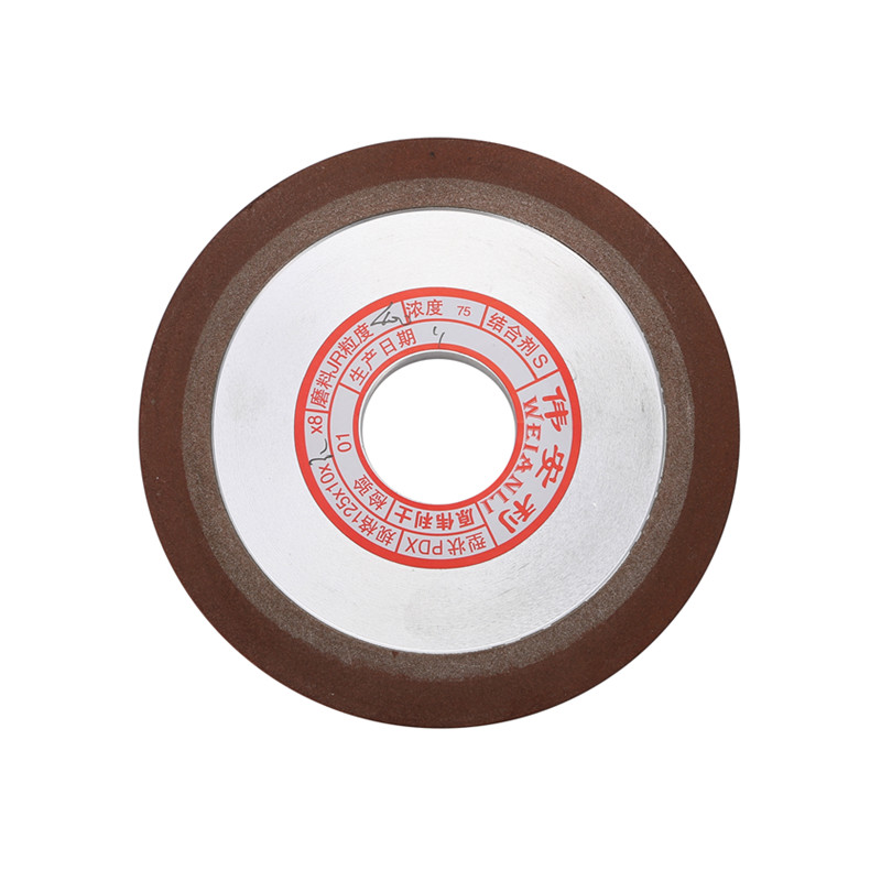 125*10*32*8mm Diamond Wheel Cutting Electroplated Saw Blade Grinding Disc Grain Fineness 400 Rotary Tool Drill