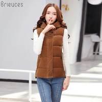 New 2018 autumn and winter women cotton vest white duck down soft warm waistcoat plus size 4XL female outwear brand vest coat
