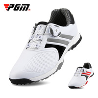 PGM Professional Men Waterproof Breathable Golf Shoes Rotating Shoeslace Sports Shoes Outdoor Shockproof Golf Sneakers D0769