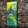 A1906 LeRoy Neiman Abstract Boxing Match Figure HD Canvas Print Home Decoration Living Room Wall Pictures