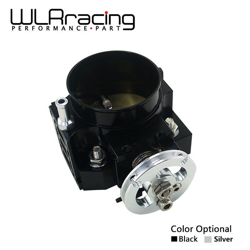 WLR RACING - NEW THROTTLE BODY FOR RSX DC5 CIVIC SI EP3 K20 K20A 70MM CNC INTAKE THROTTLE BODY PERFORMANCE WLR6951