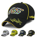 Snapback Caps Wholesale Rossi 46 Embroidery Baseball Cap Hat Motorcycle Racing Cap VR46 Sport Baseball Cap For Men Free Shipping